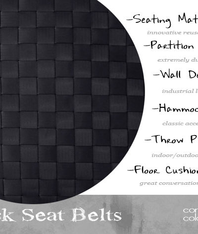 Design Elements {Black Seat Belts}