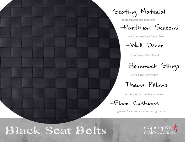 black-seat-belts