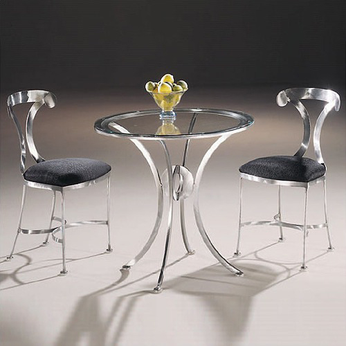 chrome-table-and-chairs
