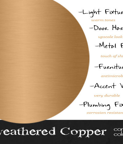 Design Elements {Unweathered Copper}