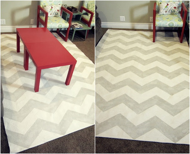 grey-and-white-chevron-rug