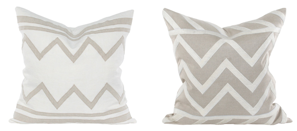 grey-and-white-chevron-throw-pillows