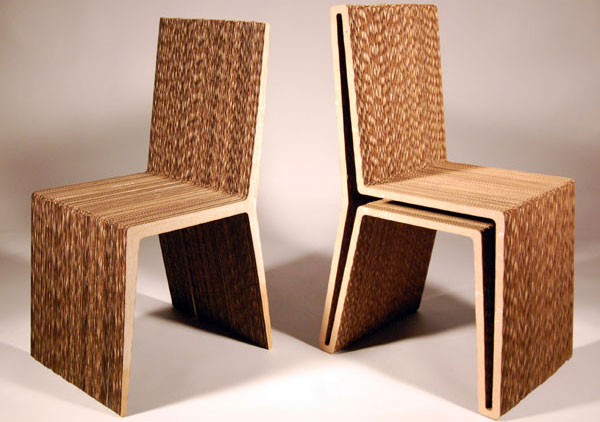 Design elements cardboard concepts and colorways What are chairs made of