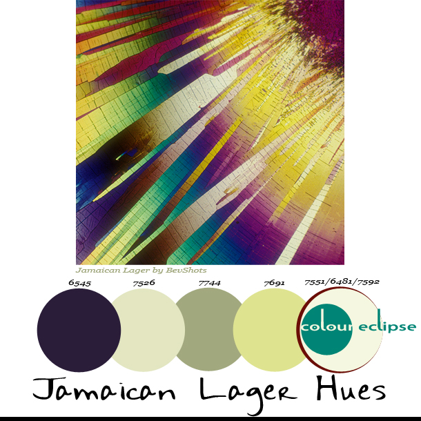 Paint Palettes {Jamaican Lager Hues}