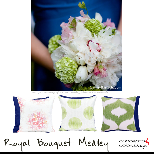 Pillow Sets {Royal Bouquet Medley}