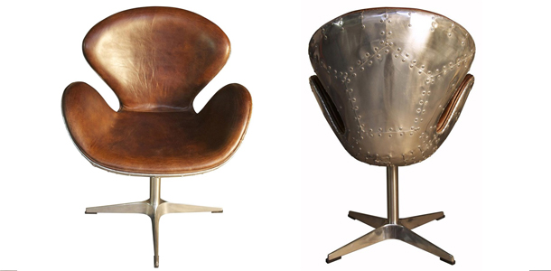 brown-leather-egg-chair-aluminum-back