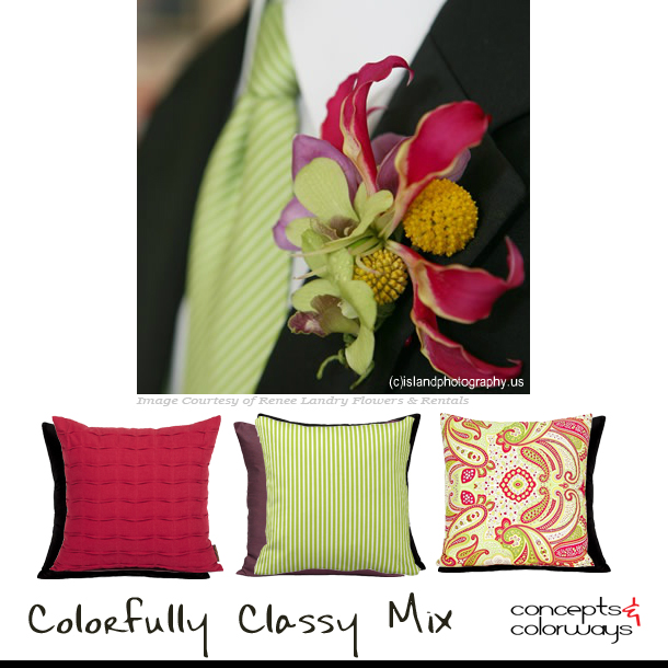 Pillow Sets {Colorfully Classy Mix}