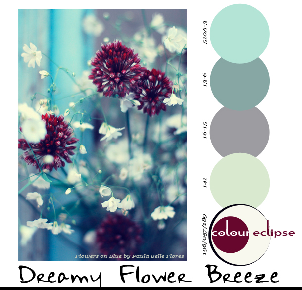 Paint Palettes {Dreamy Flower Breeze}
