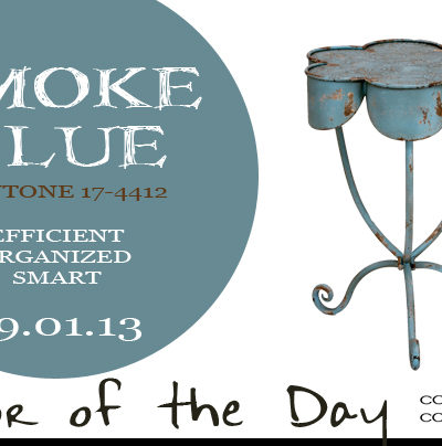 Color of the Day {Smoke Blue}