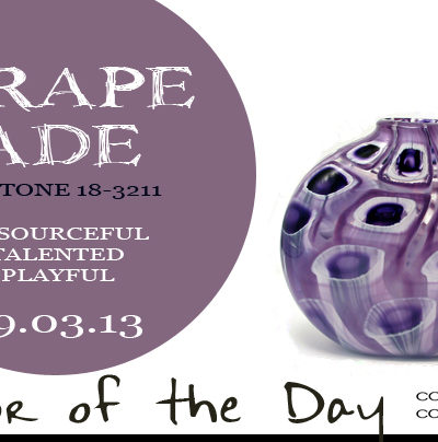 Color of the Day {Grapeade}