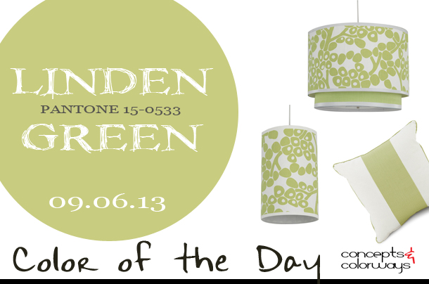 Color of the Day {Linden Green}