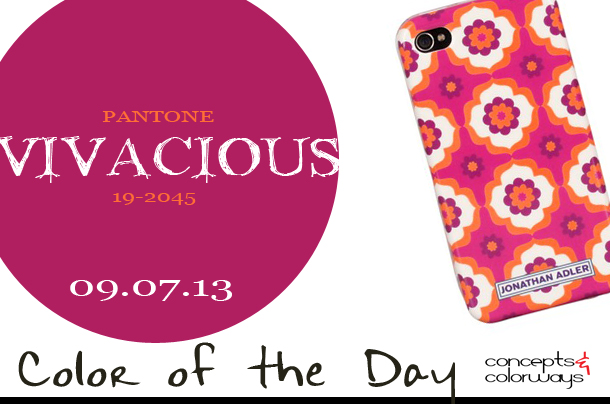 Color of the Day {Vivacious}