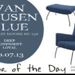 10.07.13 Van Deusen Blue Color of the Day
