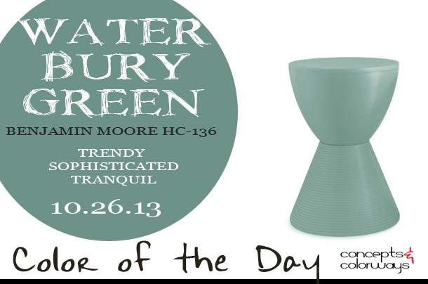 Color of the Day {Waterbury Green}