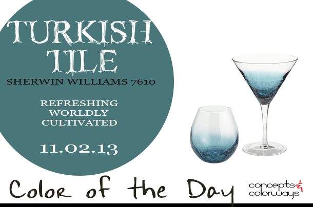 Color of the Day {Turkish Tile}