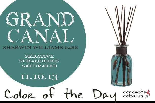 Color of the Day {Grand Canal}