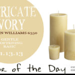11.13.13-intricate-ivory-color-of-the-day