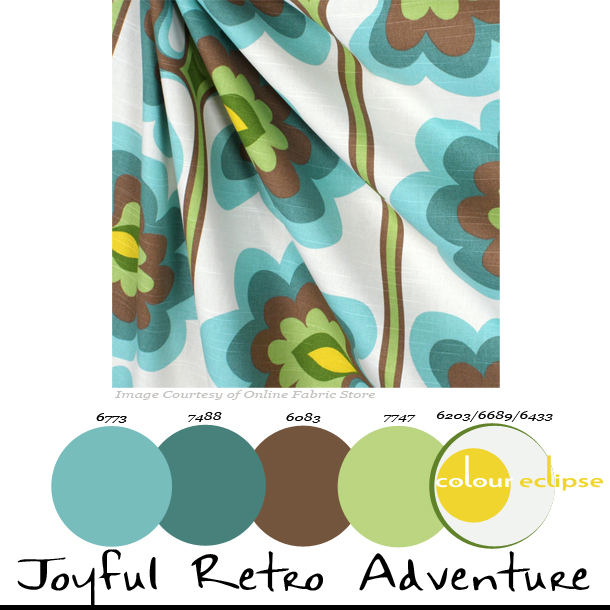 Paint Palettes {Joyful Retro Adventure}