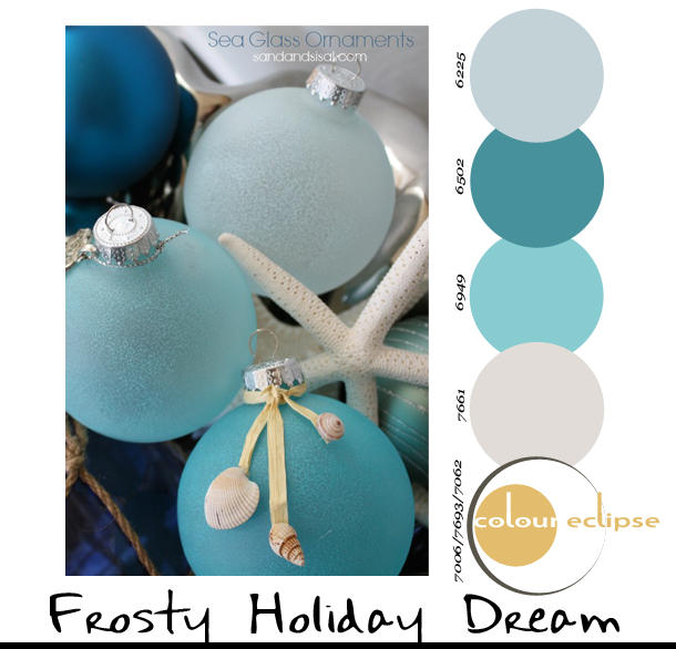 Paint Palettes {Frosty Holiday Dream}