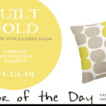 01.13.14-quilt-gold-color-of-the-day