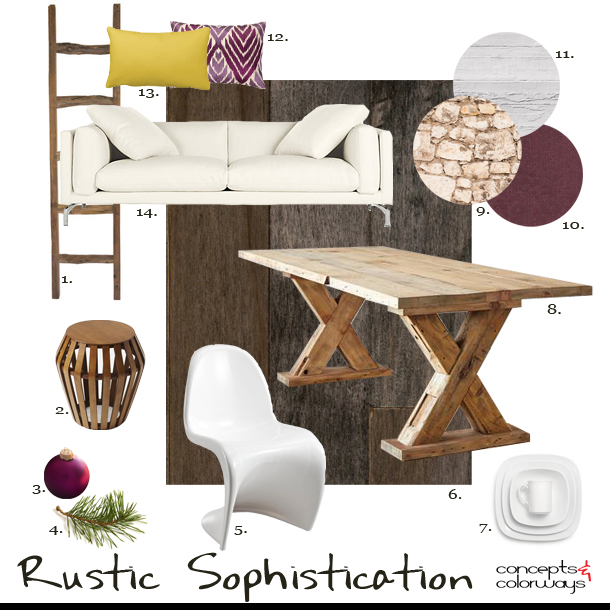 Get the Look {Rustic Sophistication}