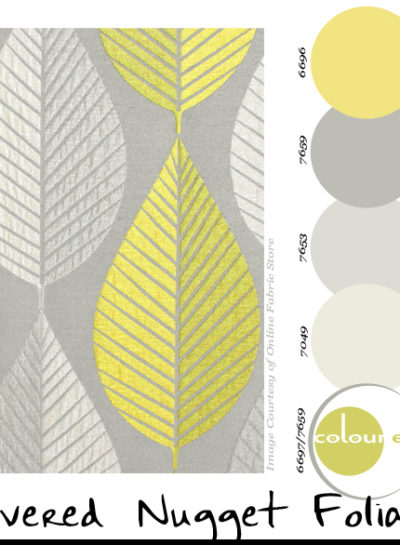 Paint Palettes {Silvered Nugget Foliage}