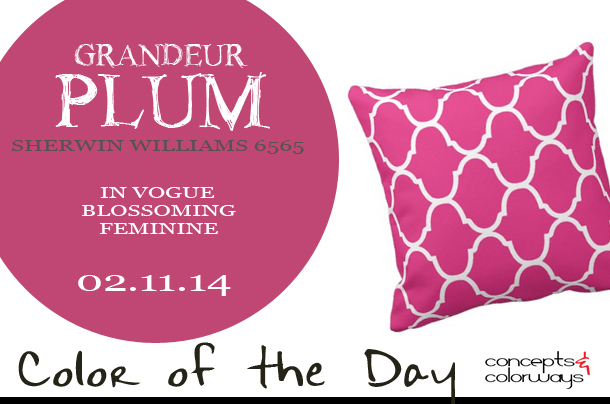 Color of the Day {Grandeur Plum}