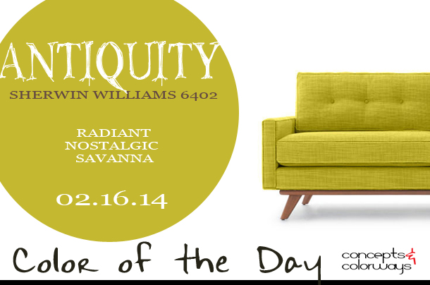 Color of the Day {Antiquity}