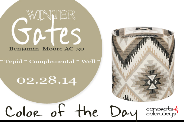 Color of the Day {Winter Gates}