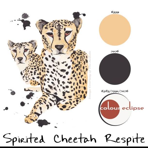 MiniPalettes Spirited Cheetah Respite  Concepts and Colorways