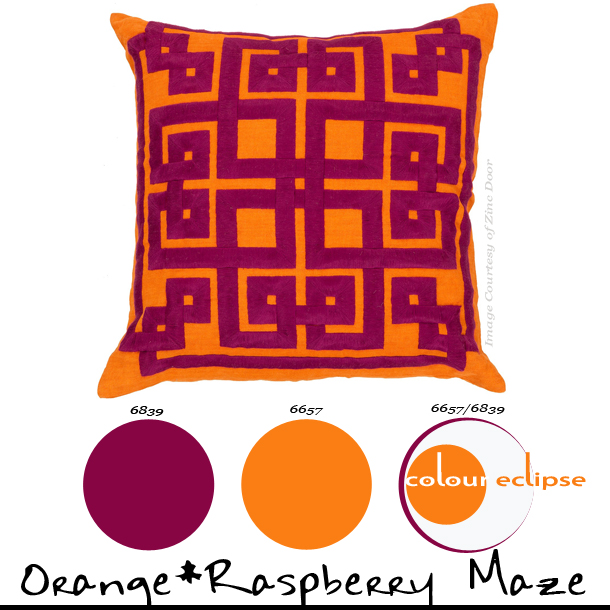 Mini-Palettes {Orange*Raspberry Maze}