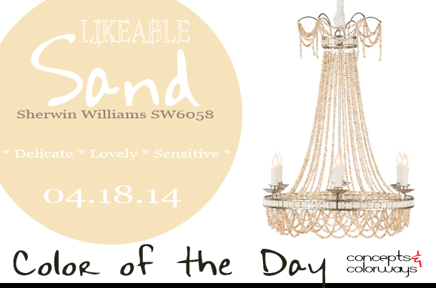 Color of the Day {Likeable Sand}