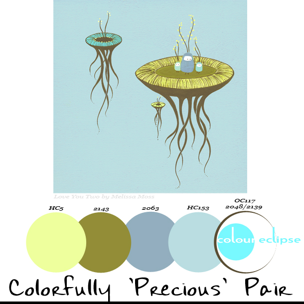 Paint Palettes {Colorfully 'Precious' Pair}