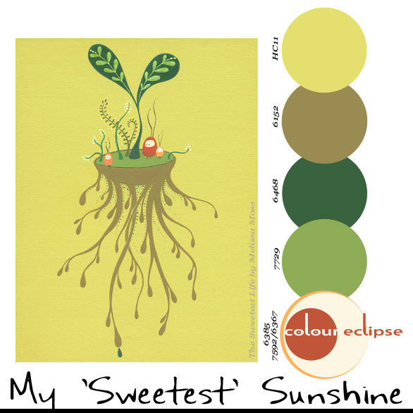 Paint Palettes {My 'Sweetest' Sunshine}