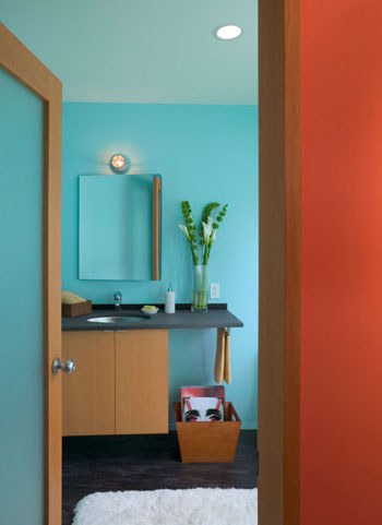 Sherwin-Williams Bathroom Colors Blue