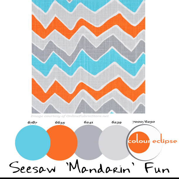 Paint Palettes {Seesaw \'Mandarin\' Fun} - Concepts and Colorways