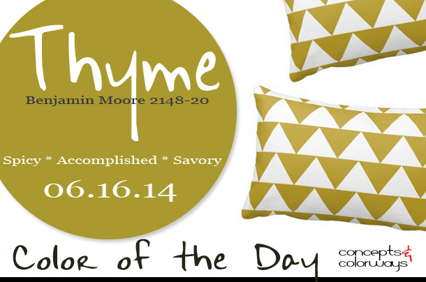 Color of the Day {Thyme}
