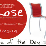 06.23.14 Color of the Day, Deep Rose, Benjamin Moore 2004-10, FPE chair by Kartell