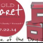 07.22.14 Color of the Day, Old Claret, Benjamin Moore 2083-30, dark pink