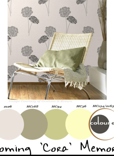 Paint Palettes {Blooming 'Cora' Memories}