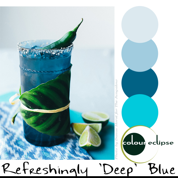 REFRESHINGLY DEEP BLUES