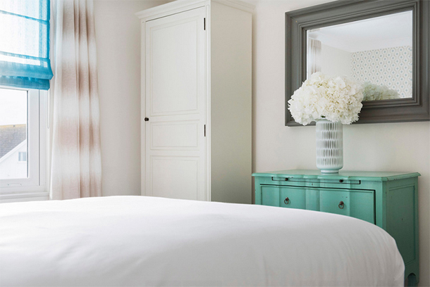 Bedroom by Camellia Interiors.