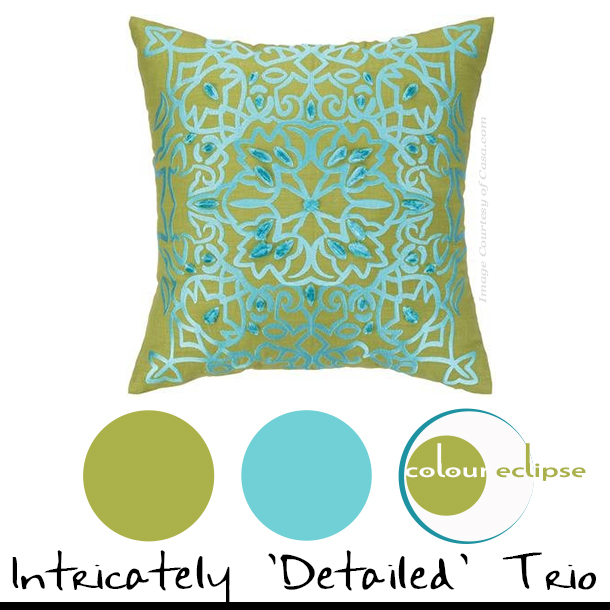 Nanette Lepore Lace Embroidered Pillow from Casa.com