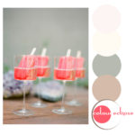 watermelon champagne popsicles with color combination