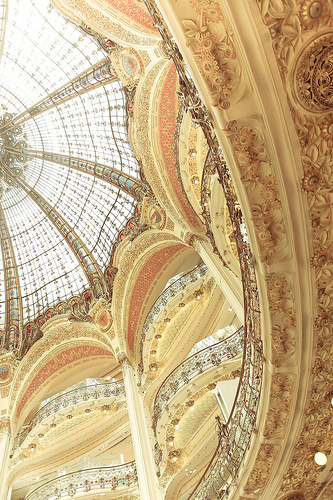intricately detailed dome ceiling