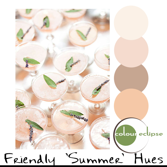 FRIENDLY SUMMER HUES