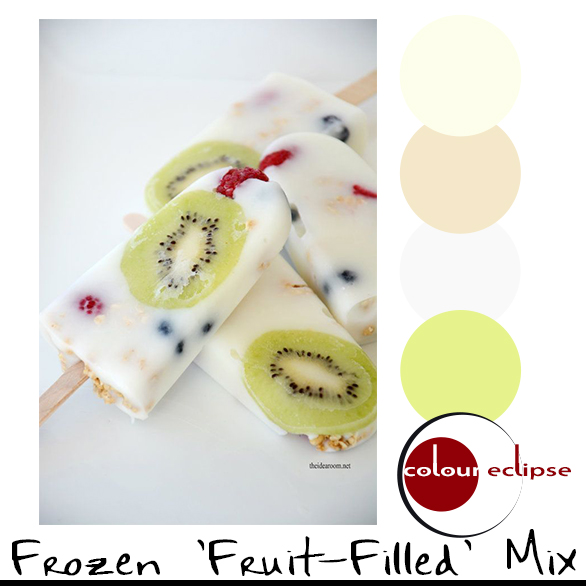 FROZEN FRUIT-FILLED MIX