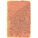 cadmium orange solid area rug