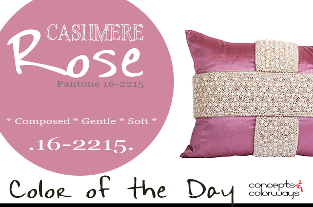 pantone cashmere rose use in interior design