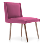 cashmere rose upholstered dining chair